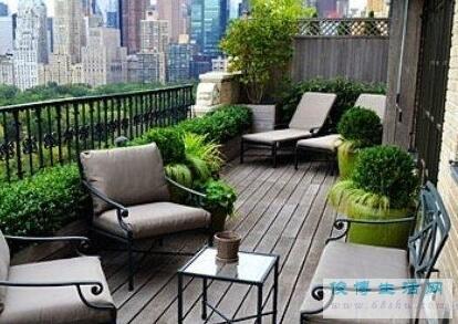 打造森林系绿意阳台!